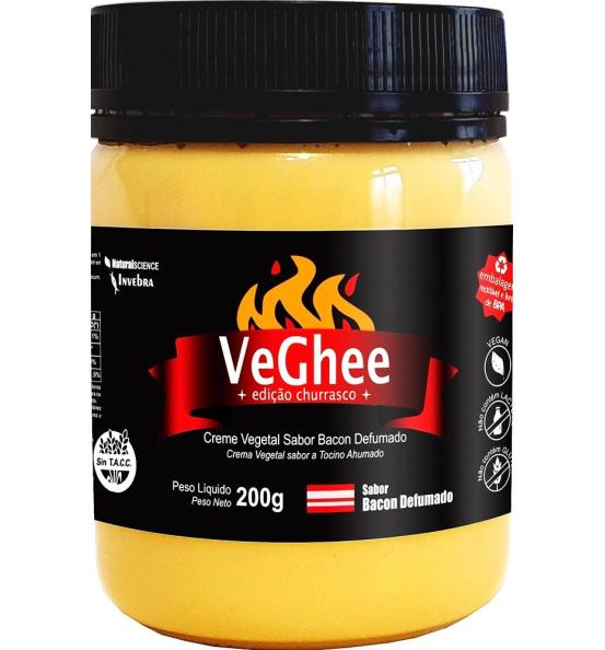 VeGhee Manteiga Vegetal Edição Churrasco Natural Science 200g