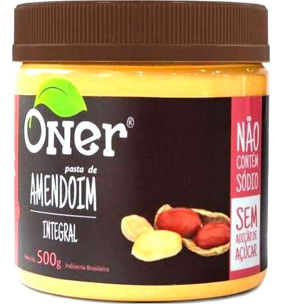 Pasta de Amendoim Integral Oner 500g