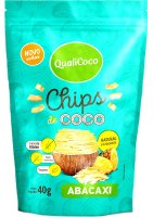 Chips de Coco Abacaxi Qualicoco 40g