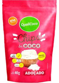 Chips de Coco Adoçado Qualicoco 40g