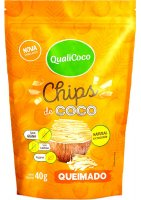 Chips de Coco Queimado Qualicoco 40g
