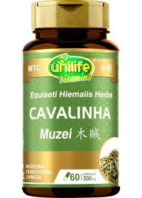 Cavalinha (Herba Equiseti Hiemalis - Mu Zei) Unilife 60 cápsulas de 500mg