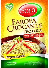 Farofa Crocante Proteica Tempero Caseiro Sora 300g