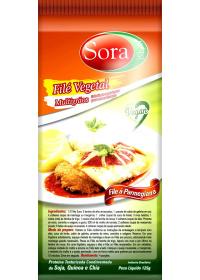Filé Vegetal Carne Branca Sora 125g