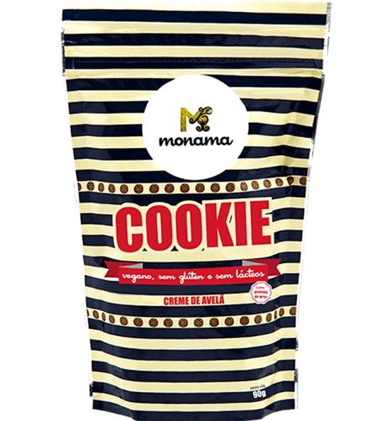 Cookie Creme de Avelã Monama 120g