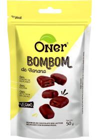 Bombom de Banana Sem Açúcar Oner 50g