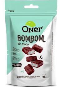 Bombom de Coco Sem Açúcar Oner 50g