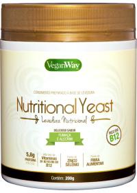 Nutritional Yeast Em Pó Fumaça & Alecrim VeganWay 200g