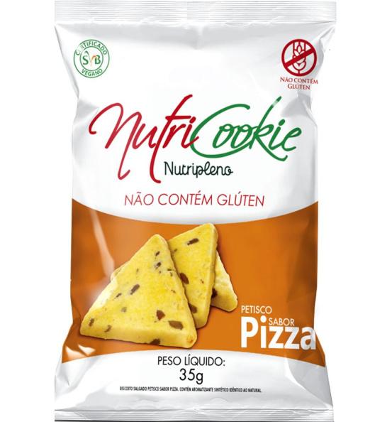 Petisco Pizza Sem Glúten Nutripleno 35g