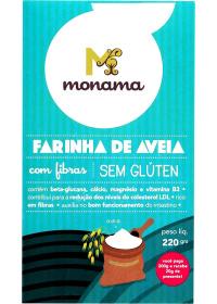 Farinha de Aveia Monama 220g