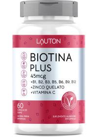 Biotina Plus Lauton 60 cápsulas