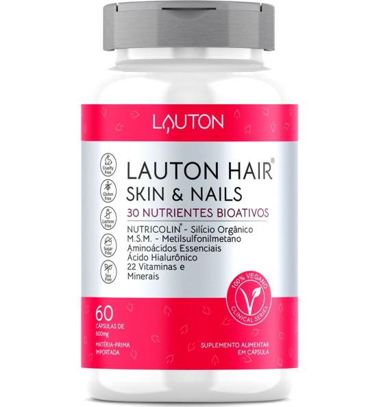 Lauton Hair®, Nail & Skin 60 Cápsulas