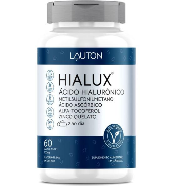 Hialux® Ácido Hialurônico Lauton 60 cápsulas
