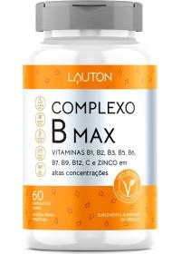 Complexo B Max Lauton 60 cápsulas
