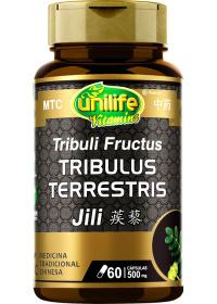 Tribulus Terrestris (Fructus Tribuli - Ji Li) Unilife 60 cápsulas de 500mg