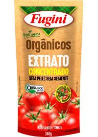 Extrato de Tomate Orgânico Fugini Sachê 340g