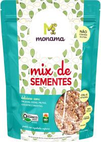 Mix Orgânico de Sementes Monama 190g