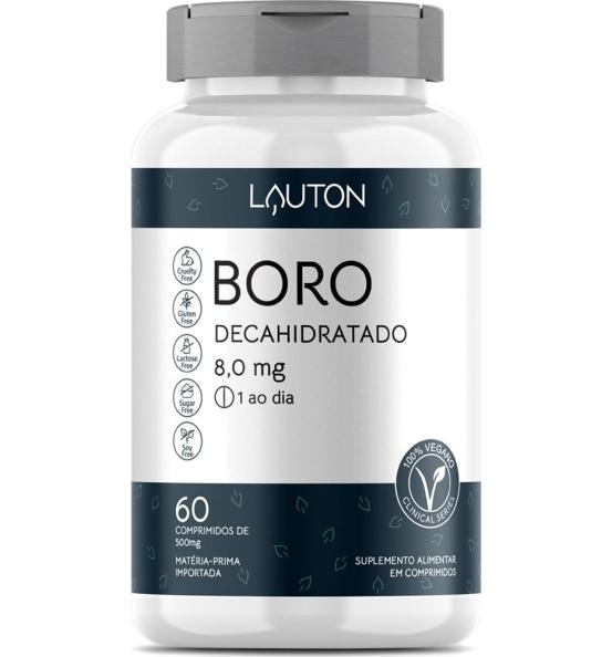 Boro Decahidratado 8mg Lauton 60 comprimidos
