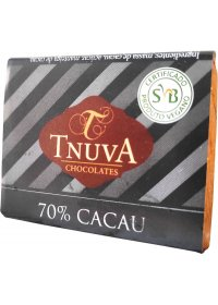 Chocolate Meio Amargo 70% Cacau Tnuva 14g