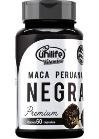 Maca Peruana Negra Premium Unilife 60 cápsulas