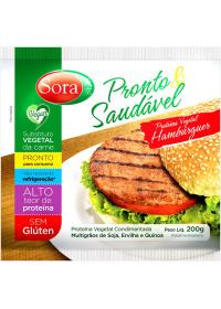 Hambúrguer de Proteína Vegetal Pronto Sora 200g