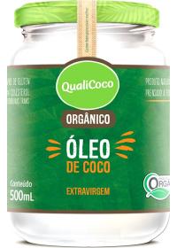 Óleo de Coco Orgânico Extravirgem Qualicoco 500ml