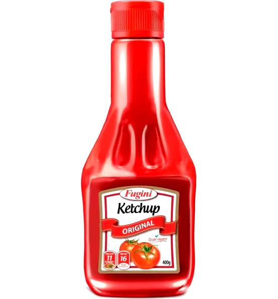Ketchup Original Frasco Fugini 400g