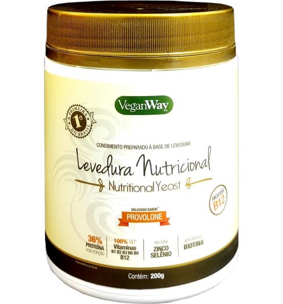 Nutritional Yeast Em Pó Sabor Provolone VeganWay 200g
