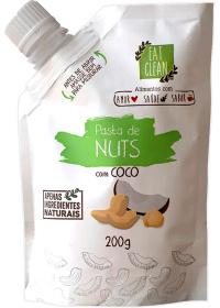 Pasta de Nuts com Coco Eat Clean 200g
