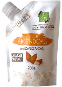 Pasta Amêndoas Com Especiarias Eat Clean 200g