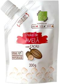 Pasta Avelã Com Cacau Eat Clean 200g
