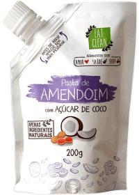 Pasta Amendoim Com Açucar de Coco Eat Clean 200g