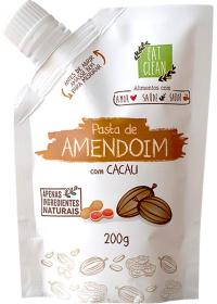 Pasta Amendoim Com Cacau Eat Clean 200g