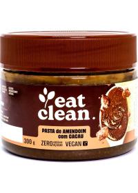 Pasta Amendoim Cacau Sem Açúcar Eat Clean 300g