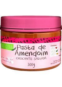 Pasta Amendoim Crocante Salgada Eat Clean 300g