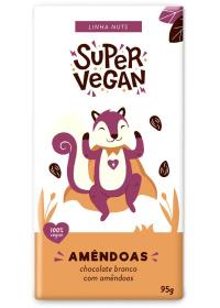 Chocolate Branco C/ Amêndoas Super Vegan 95g