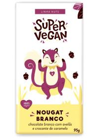 Chocolate Branco C/ Avelãs e Crocante Caramelo Super Vegan 95g
