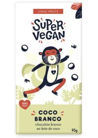 Chocolate Branco ao Leite de Coco Super Vegan 95g