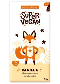 Chocolate Branco C/ Baunilha Super Vegan 95g