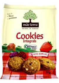 Cookie Orgânico Frutas Vermelhas Mãe Terra 30g