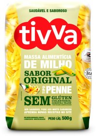 Massa de Milho Penne Sabor Original Tivva 500g