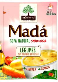 Sopa Madá Legumes + Linhaça + Quinua Mãe Terra 17g