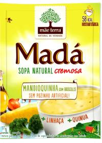 Sopa Madá Mandioquinha com Brócolis + Linhaça + Quinua Mãe Terra 17g