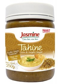 Creme de Gergelim Integral Tahine Jasmine 250g