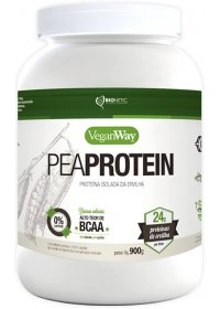 Vegan Way - Pea Protein Proteína Isolada de Ervilha Natural Bionetic 900g