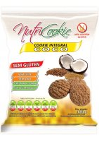 Cookie Integral Coco Sem Glúten Nutricookie 120g