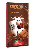 Tablete Chocolate Sabor Morango ZeroMilk Genevy 80g