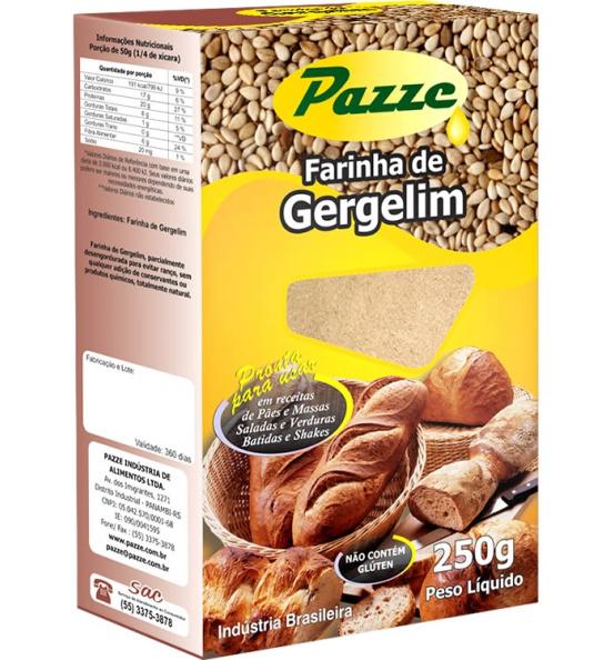 Farinha de Gergelim Pazze 250g