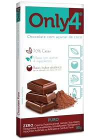 Chocolate Only4 Puro Genevy 80g