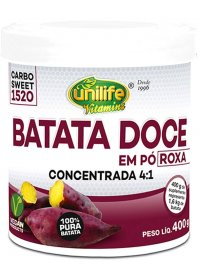 Batata Doce Roxa em Pó Unilife 400g